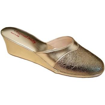 Schuhe Damen Pantoletten / Clogs Milly MILLY4000oro grigio