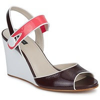 Schuhe Damen Sandalen / Sandaletten Marc Jacobs VOGUE GOAT Bordeaux / Rose