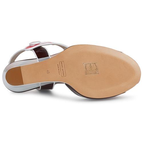 Marc Jacobs VOGUE GOAT Bordeaux / Rose Schuhe Sandalen / Sandaletten Damen 247,50