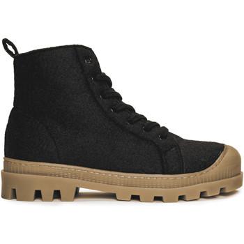 Schuhe Damen Low Boots Nae Vegan Shoes Noah_Black_PET Schwarz