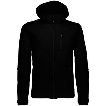 Kleidung Herren Jacken Cmp Sport MAN SOFTSHELL JACKET ZIP HOOD 3A01787N U901 schwarz