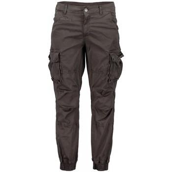 Kleidung Herren Cargo Hosen Scout Cargo Männer Blau Hose (pnt1389-Blei) Grau