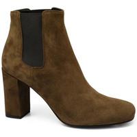 Schuhe Damen Low Boots Saint Laurent  Braun