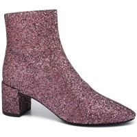 Schuhe Damen Low Boots Saint Laurent  Rose