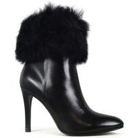 Schuhe Damen Low Boots Saint Laurent  Schwarz