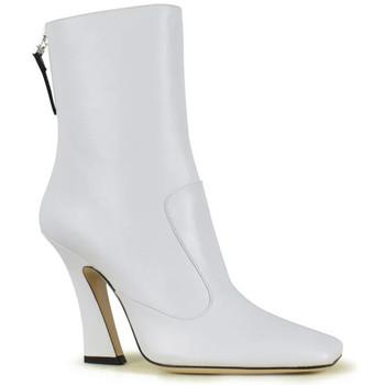 Schuhe Damen Low Boots Vintage  Weiss