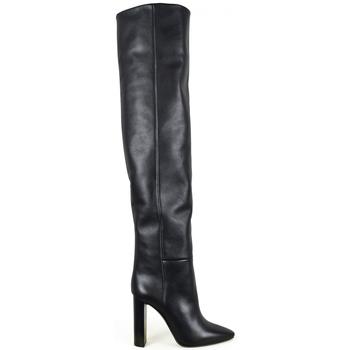 Schuhe Damen Kniestiefel Saint Laurent  Schwarz