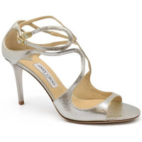 Schuhe Damen Sandalen / Sandaletten Jimmy Choo  Silbern