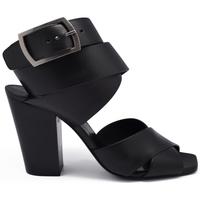 Schuhe Damen Sandalen / Sandaletten Saint Laurent  Schwarz