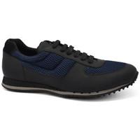Schuhe Herren Sneaker Low Car Shoe  Schwarz