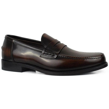 Schuhe Herren Slipper Alberto  Braun