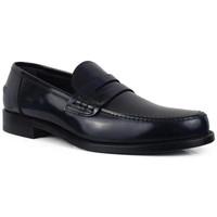 Schuhe Herren Slipper Alberto  Blau