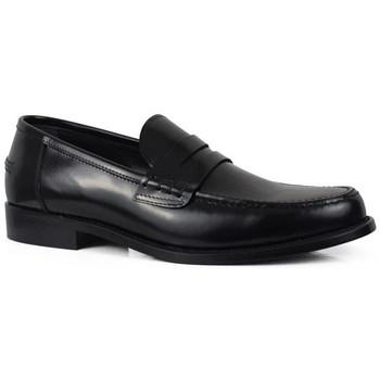 Schuhe Herren Slipper Alberto  Schwarz