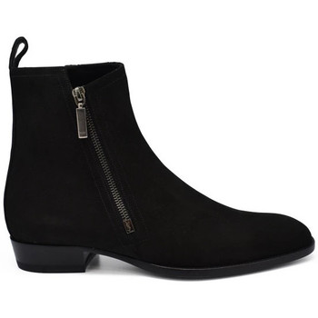 Schuhe Herren Stiefel Saint Laurent  Schwarz