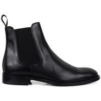 Schuhe Herren Stiefel Alberto  Schwarz
