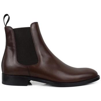 Schuhe Herren Stiefel Alberto  Braun