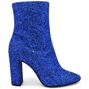 Schuhe Damen Stiefel Saint Laurent  Blau