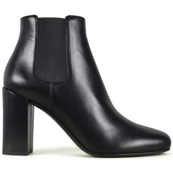Schuhe Damen Stiefel Saint Laurent  Schwarz