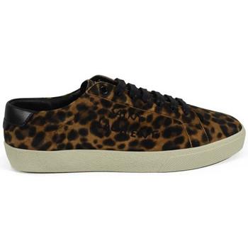 Schuhe Damen Sneaker Saint Laurent  Braun