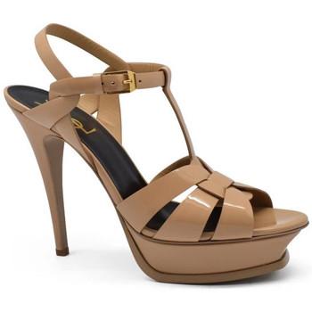 Schuhe Damen Sandalen / Sandaletten Saint Laurent  Beige