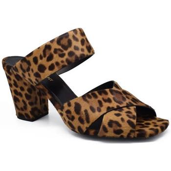 Schuhe Damen Sandalen / Sandaletten Saint Laurent  Braun
