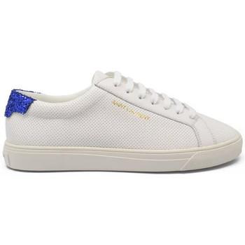Schuhe Damen Sneaker Saint Laurent  Weiss