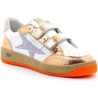 Schuhe Mädchen Sneaker Low Semerdjian ARGEL Blanc