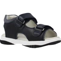 Schuhe Jungen Sandalen / Sandaletten Garvalin 202453 Blau