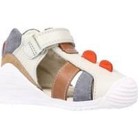 Schuhe Jungen Sandalen / Sandaletten Biomecanics 202147 Grau