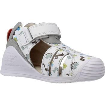 Schuhe Jungen Sandalen / Sandaletten Biomecanics 202152 Weiß