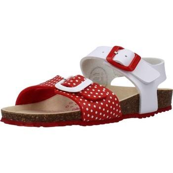 Schuhe Mädchen Sandalen / Sandaletten Garvalin 202665 Weiß
