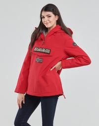 Kleidung Damen Parkas Napapijri RAINFOREST WINTER Rot