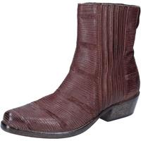 Schuhe Damen Low Boots Moma BJ206 Braun