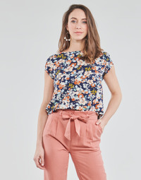 Kleidung Damen Tops / Blusen Betty London OMISS Marine / Rose