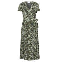 Kleidung Damen Maxikleider Betty London OMADAM Schwarz / Multicolor