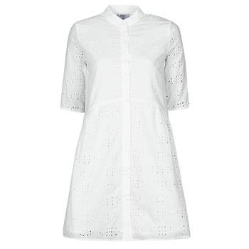 Kleidung Damen Kurze Kleider Betty London ODA Weiss