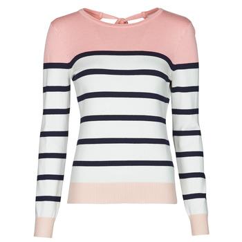 Kleidung Damen Pullover Betty London ORALI Rose / Naturfarben