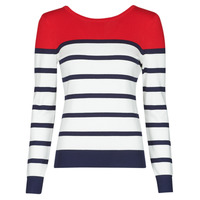 Kleidung Damen Pullover Betty London ORALI Rot / Naturfarben