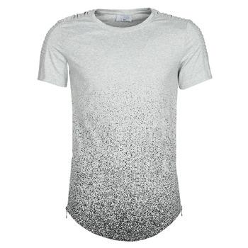 Kleidung Herren T-Shirts Yurban OLORD Grau / Schwarz