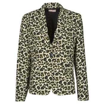 Kleidung Damen Jacken / Blazers Moony Mood OUPLA Braun