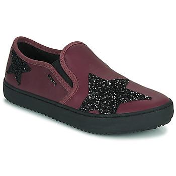 Schuhe Mädchen Sneaker Low Geox J KALISPERA FILLE Violett