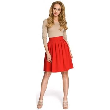 Kleidung Damen Röcke Moe M237 Rock - rot