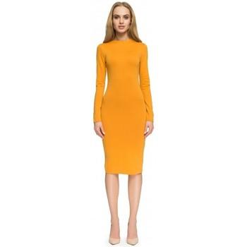 Kleidung Damen Kurze Kleider Style S033 Kleid - königsblau