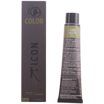 Beauty Haarfärbung I.c.o.n. ECOTECH COLOR NATURAL COLOR 6 666 INTENSE RED 60ML