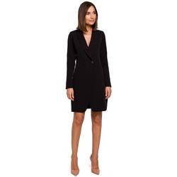 Kleidung Damen Kleider Style S217 Blazerkleid - schwarz