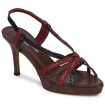 Schuhe Damen Sandalen / Sandaletten Stéphane Kelian PRISCILLE Braun / Rot