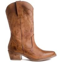 Schuhe Damen Stiefel Funny Lola CAW Braun