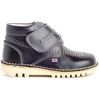 Schuhe Kinder Boots Colour Feet TUAREG Blau