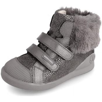 Schuhe Kinder Boots Biomecanics 191205 Grau