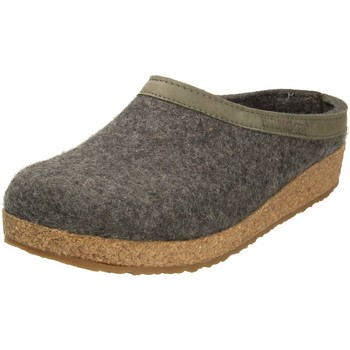 Schuhe Herren Pantoffel Haflinger Grizzly Torben 713001-04 grau